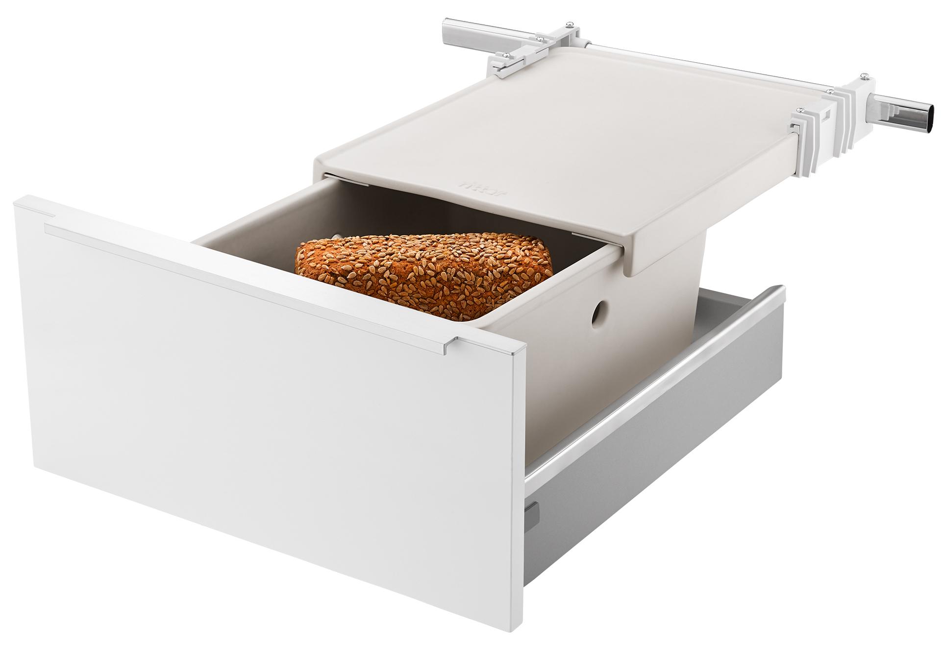 Platzsparer Küche | Vom Allesschneider Bis Zum Brottopf Einbaugerate Als Elegante